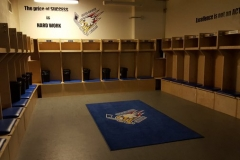 football lockers