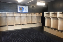 Skating Institute athletic lockers