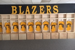 athletic lockers- blazers