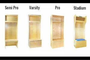 sports locker lineup