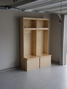 Wood Lockers